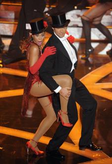 Зажигательный танец Бейонсе и Хью Джекмана