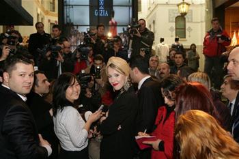 Ксения Собчак на Неделе моды в Стамбуле