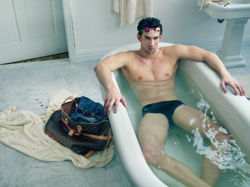 Майкл Фелпс (Michael Phelps) в рекламной кампании Louis Vuitton