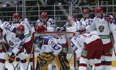 Молодежную сборную России по хоккею сняли с самолета