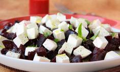 Рецепт свекольного салата с сыром