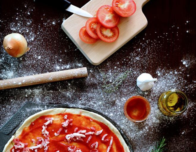 Как сделать тонкое тесто для пиццы как в пиццерии без дрожжей 58