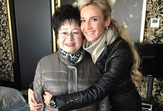 Ольга Бузова с мамой: фото