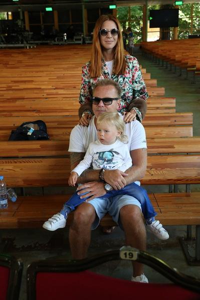 Владимир Пресняков и Наталья Подольская с сыном Артемием