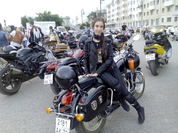тюменские байкерши фото