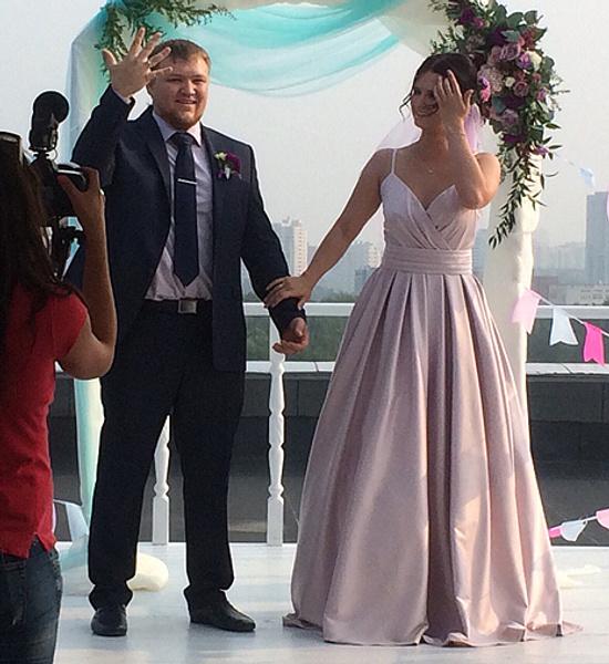 Ксения Белоусова, свадьба, фото