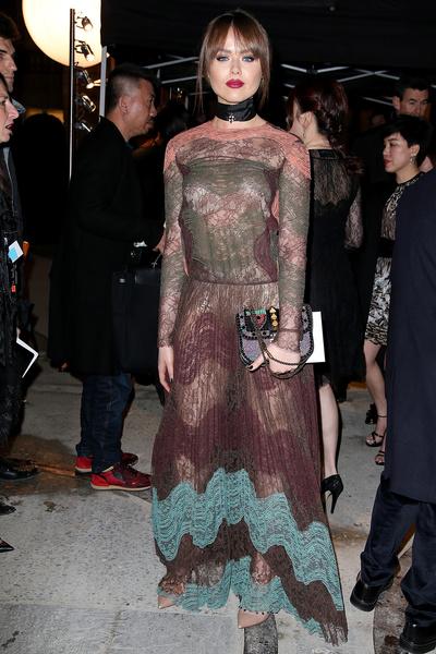 Однажды в Риме: показ Valentino на Неделе Высокой Моды в Париже | галерея [1] фото [1]