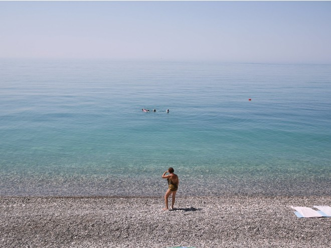 чистое черное море