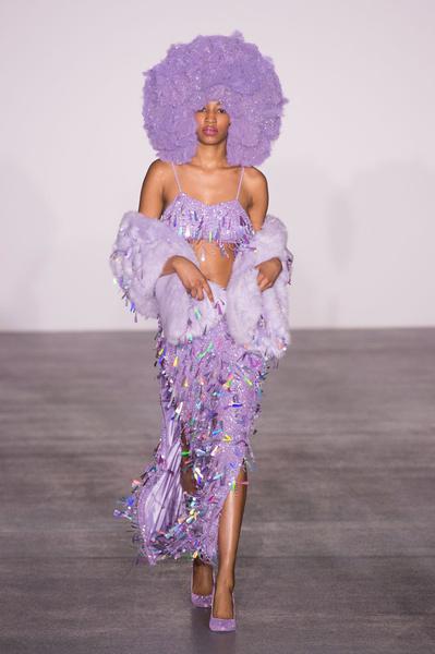 Самые красивые образы Недели моды в Лондоне | галерея [1] фото [89]