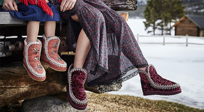 Держите ноги в тепле: валенки mou