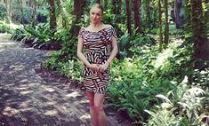 Анастасия Волочкова ведет репортаж из джунглей