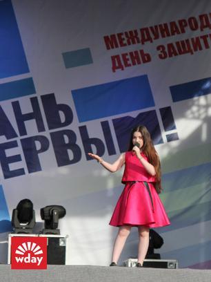 Благотворительная акция «Первого канала» «Стань первым» в Туле, Рагда Ханиева