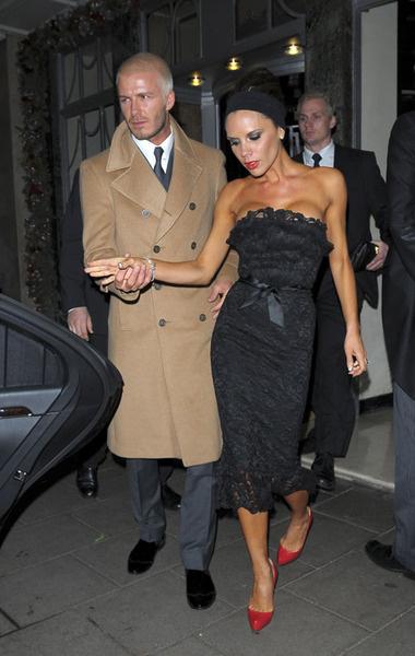 Виктория Бекхем с мужем Дэвидом