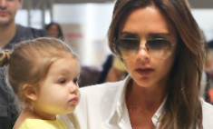 Виктория Бекхэм готовит дочь к Неделе моды