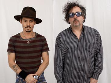 Джонни Депп (Johnny Depp) и Тим Бертон (Tim Burton)