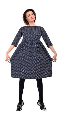 Платье Samuji, ботинки Robert Clergerie