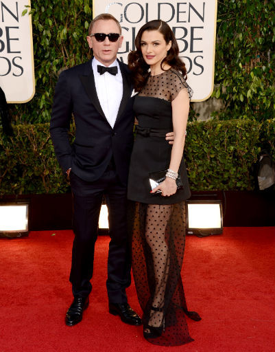 Дэниел Крейг (Daniel Craig) и Рейчел Вайз (Rachel Weisz)