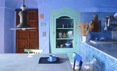 Как небо: интерьер в голубых оттенках