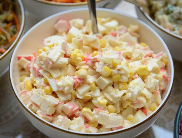 рецепт салат крабовый в картинках