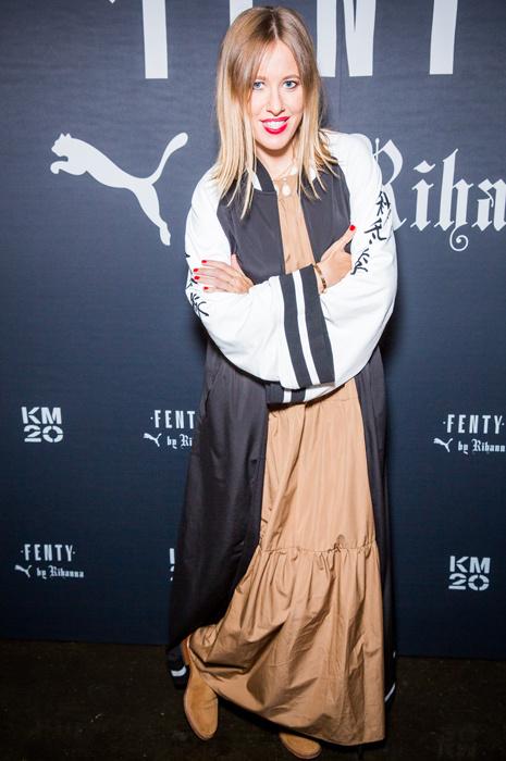 Ксения Собчак на презентации FENTY PUMA by Rihanna