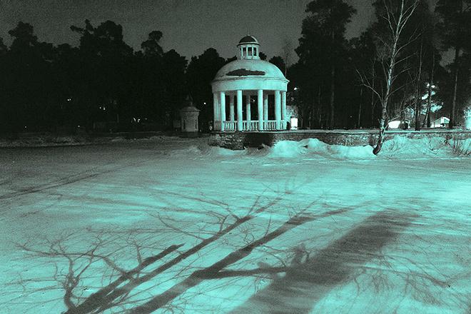 Новогодние елки в Челябинске