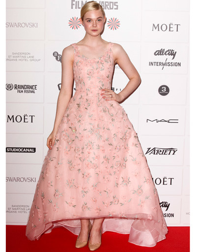 Элль Фаннинг (Elle Fanning) на British Independent Film Awards
