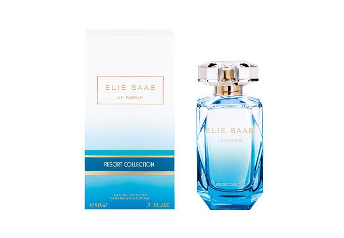 Парфюмер Франсис Куркджан, работая над ароматом Le Parfum Resort Collection, Elie Saab, представлял себе игру солнечных лучей на воде, теплые песчаные пляжи и свежий морской бриз.