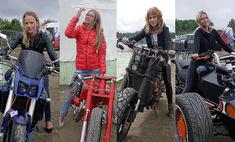 Байк-красотки: 10 уралочек на крутых мотоциклах