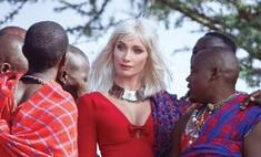 Супермодель Алиса Крылова покорила Кению