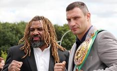 Соперник Виталия Кличко назвал его «великим боксером»