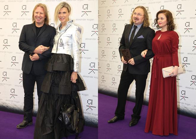 Игорь Николаев и Виктор Дробыш с женами фото