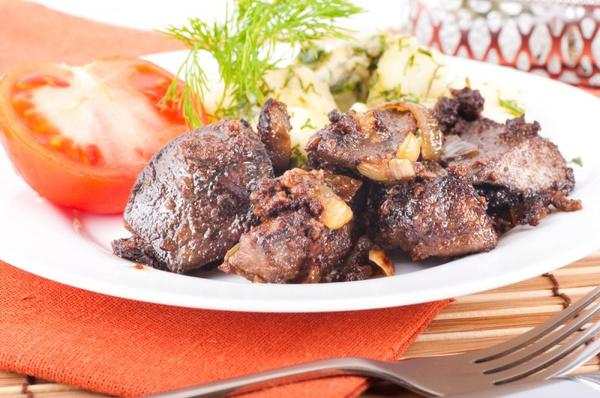 Блюда из свиной печени