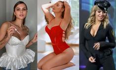Вестник «100 самых сексуальных женщин страны»: Плетнева в кожаном белье, Зверева в полицейской форме и Серябкина на пилоне