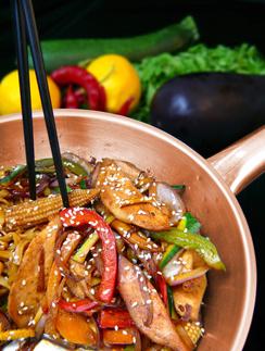 Китайская сковорода вок