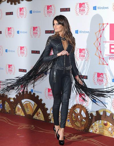 Изабели Фонтана (Isabeli Fontana) на MTV EMA 2012