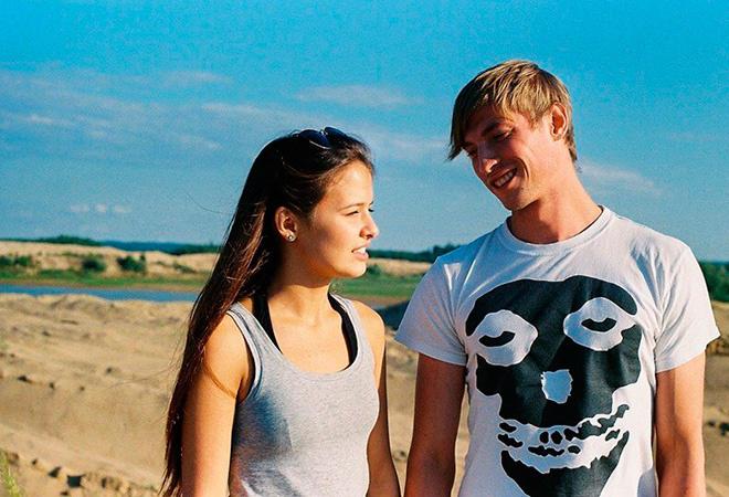 Любовь Аксенова с мужем Павлом