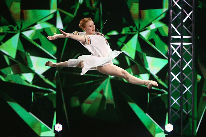 Участница шоу «ТАНЦЫ»