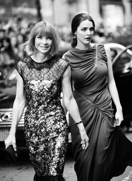 Анна Винтур с дочерью