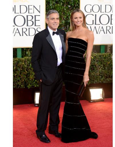 Джордж Клуни (George Clooney) и Стейси Киблер