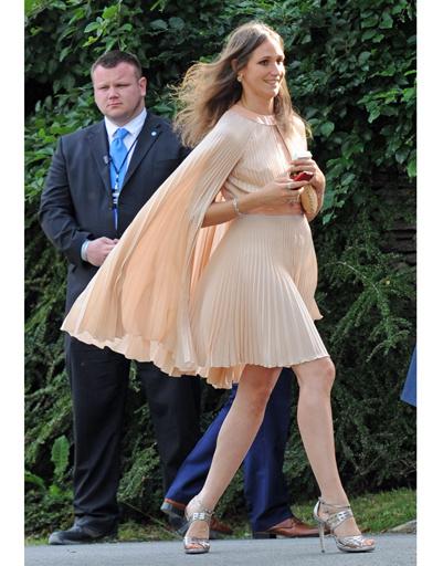 Гостья свадьбы Кейт Мосс