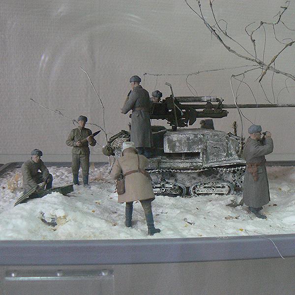 выставка моделей военной техники