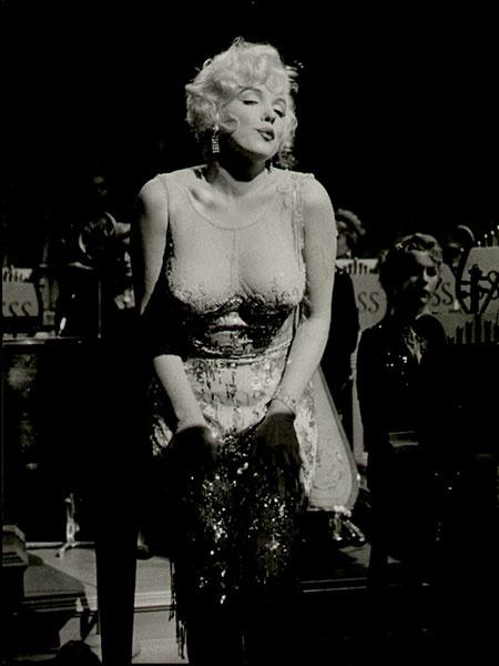 Голые платья. Мэрилин Монро
