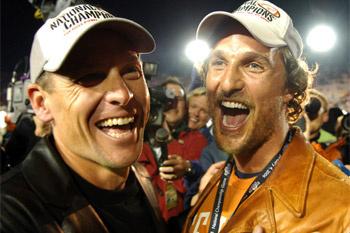 Мэттью МакКонахи и Лэнс Армстронг.