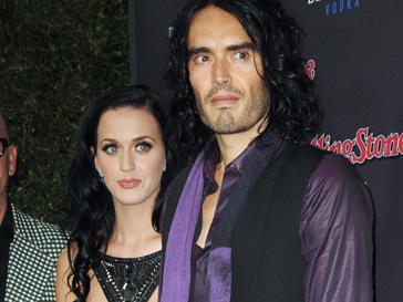 Кэти Перри (Katy Perry) и Рассел Бренд (Russel Brand)