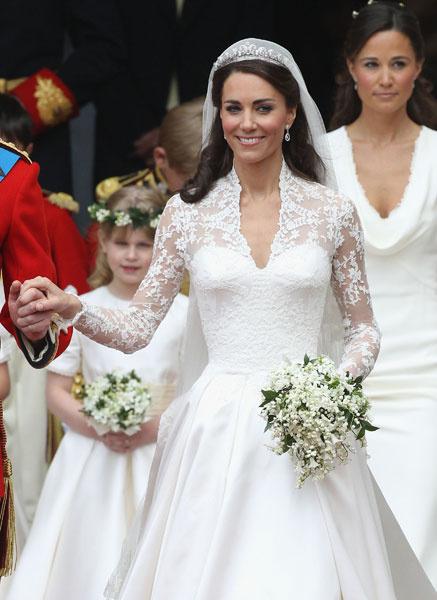 Свадебное платье Кейт Миддлтон от Alexander McQueen