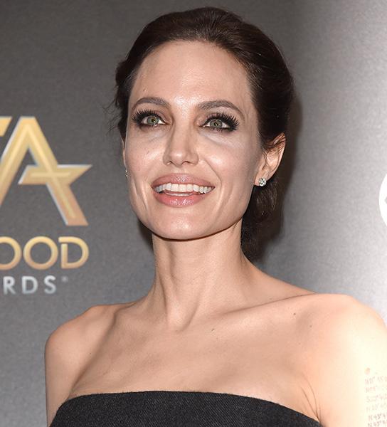 Анджелина Джоли, ноябрь 2014