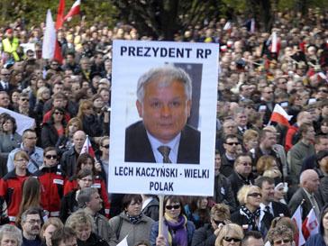 Демонстрация в Польше