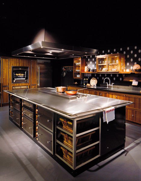 Обитаемый остров: кухни La Cornue | галерея [1] фото [2]