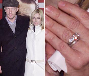 Мадонна - девушка во всех отношениях сложная, поэтому ее муж понял, что одним бриллиантом от певицы не откупиться и выбрал...сразу три.