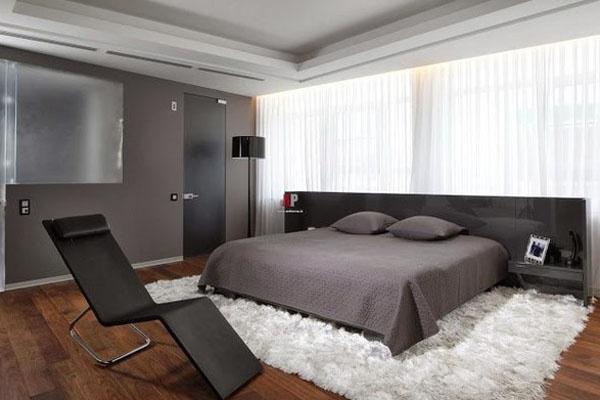 Хайтек спальня